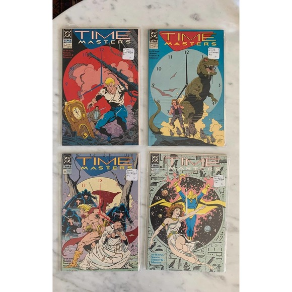 Time Masters Comic Book